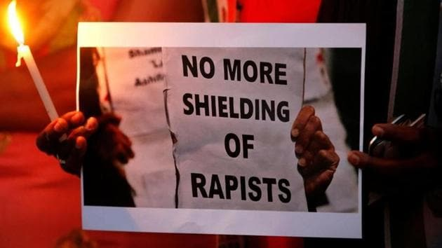 The woman was returning home after watching a film with her friend on December 16, 2012, when she was raped by six men and thrown off the bus.(Reuters File Photo)
