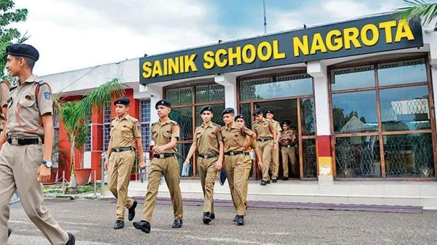 Sainik school entrance exam (AISSEE) 2020.(HT file)