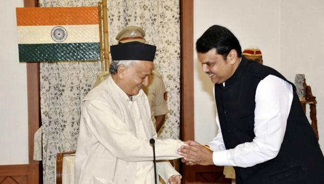Devendra Fadnavis had hoped to have a longer stint when he quietly took oath as chief minister in a surprising turn of events on 23 November.(PTI)