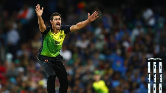 File photo of Mitchell Starc.(Getty Images)