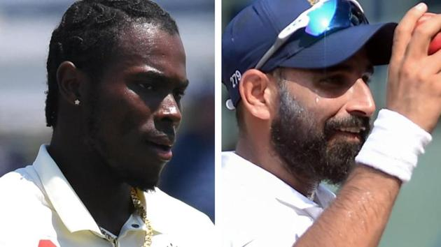 Jofra Archer (L) and Mohammed Shami.(Agencies)