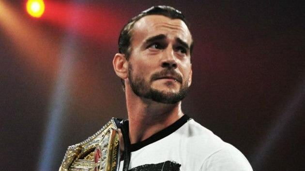A file photo of CM Punk.(Twitter)