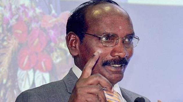 Isro chief K Sivan on Tuesday claimed that the Indian space agency's own orbiter had located the lander and had declared it on its website, news agency ANI reported.(PTI File Photo)