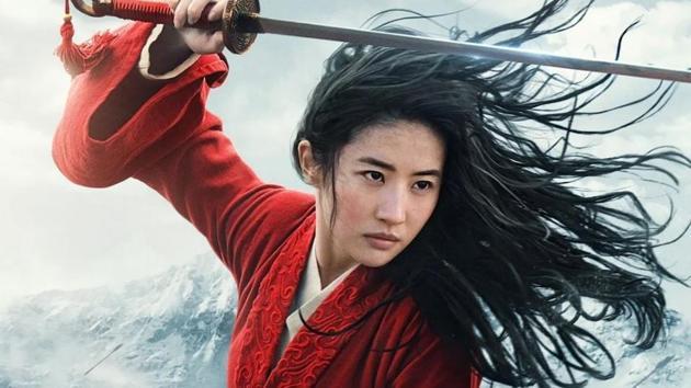 Liu Yifei stars as Mulan in Disney's live-action remake.