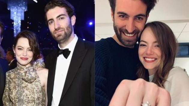 Emma Stone is engaged to writer and boyfriend DaveMcCary.
