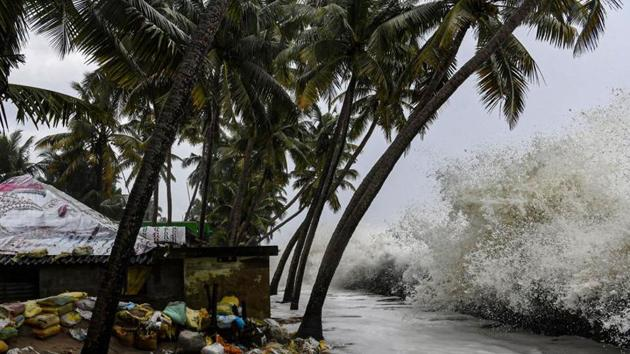The Arabian Sea witnesses a normal of one cyclone per year. The last time five tropical cyclones were witnessed in a year was in 1902.(PTI)