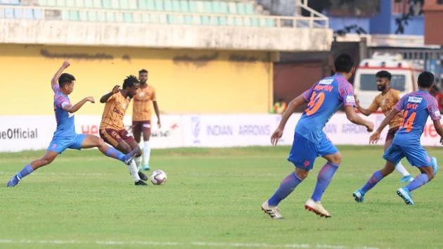 Gokulam Kerala defeated Indian Arrows in I-League.(AIFF)