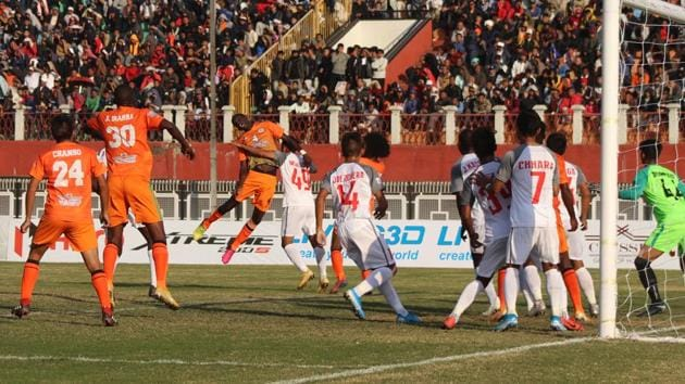 Neroca FC registered their first win of this I-League season.(AIFF)