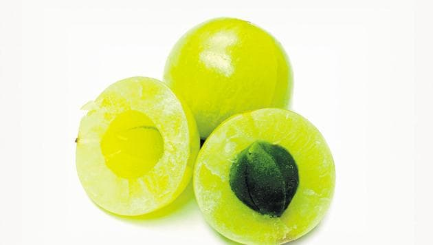 An amla a day is a good source of Vitamin C