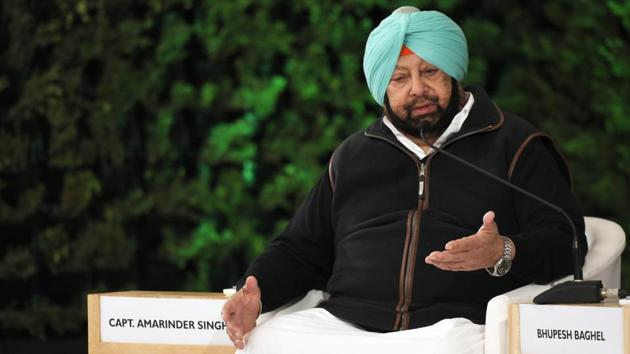 """Amarinder Singh on pan-India NRC said, """"I find that strange. You have subedars, Lt Colonels and they are suddenly finding out that they are not Indians. You can't just ask people to leave country."""" He later added, """"Why are we asking our people to go, what is the logic? You can't say you can't come home. Bangladesh says they don't want them, what do you do then. I am not on board."""" (Raj K Raj / HT Photo)"""
