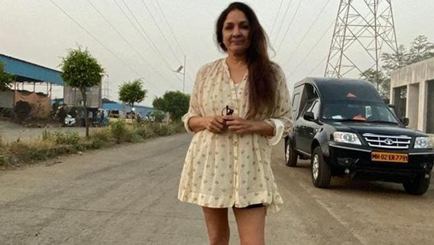 The actor gave us a shock, when she posted a picture of herself, and while her attire was comfy and fun, it was the caption, like plenty others she puts up with her posts, that had us rolling with laughter.(Neena Gupta/Instagram)