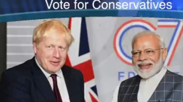 In UK, Conservative Party's poll video features PM Modi to woo Indian voters