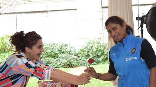 Taapsee Pannu will play Mithali Raj in her biopic.
