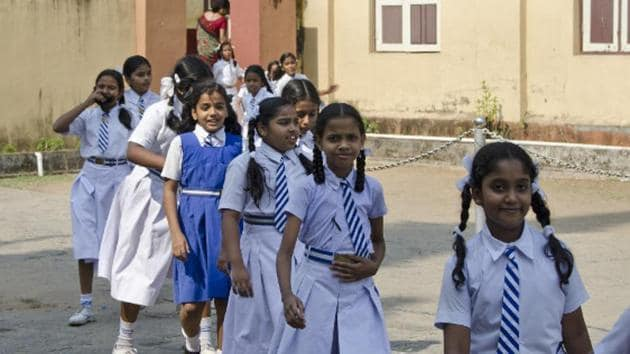 The education minister said the Himachal Pradesh government had spent Rs 57.89 crore on providing two sets of free uniforms to 8.30 lakh students. (Representational image)(HT file)