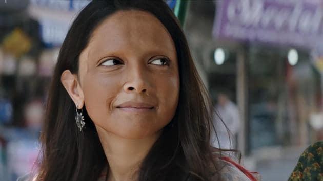 Deepika Padukone plays acid attack survivor Malti in Chhapaak.
