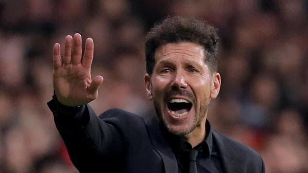 Atletico Madrid coach Diego Simeone(REUTERS)