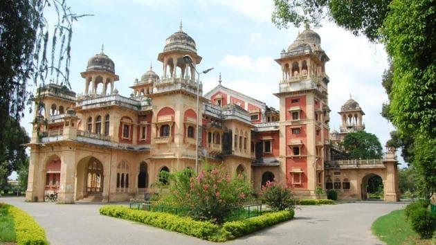 Allahabad University campus.(HT)