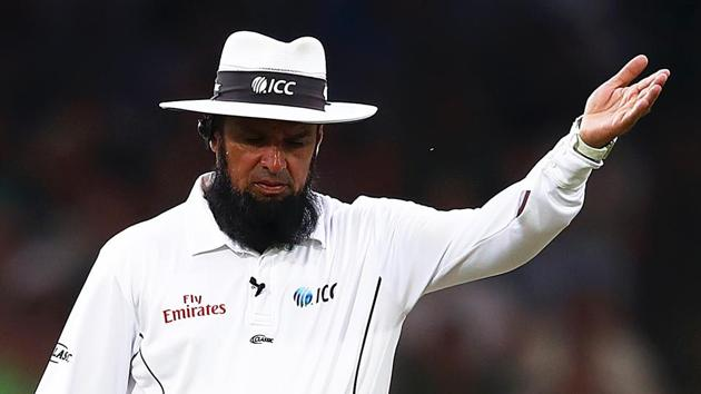 File image of umpire Aleem Dar.(Getty Images)