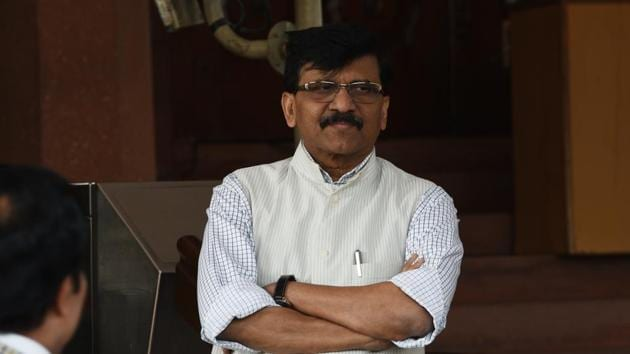 The Shiv Sena. however, hasn't indicated if it would vote against the bill that fast-tracks citizenship for non-Muslim refugees from Pakistan, Bangladesh and Afghanistan or will abstain from voting.(Vipin Kumar/HT PHOTO)