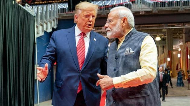 Prime Minister Narendra Modi and US President Donald Trump(ANI file photo)