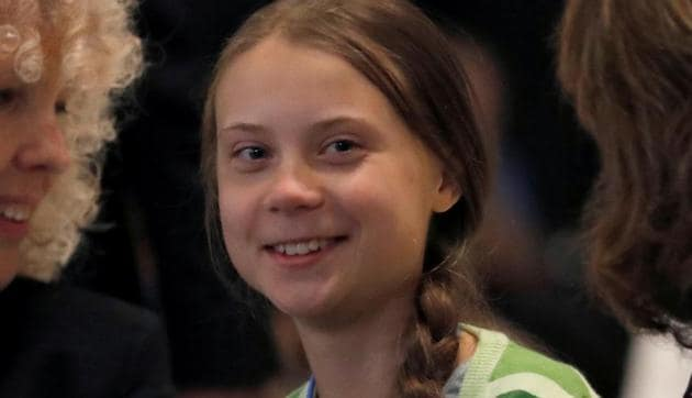 President Donald Trump lashed out at 16-year-old climate activist Greta Thunberg on Thursday, a day after she was named by Time as its Person of the Year.(REUTERS)