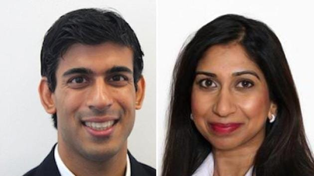 Suella Braverman (Conservative) and Rishi Sunak (Conservative) were among the 10-member group of MPs of Indian-origin who were declared elected.