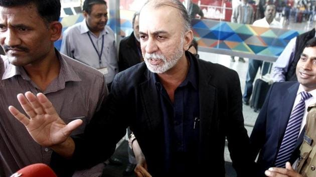 The trial court framed charges of rape, sexual harassment and wrongful confinement against Tejpal in September(Reuters Photo)
