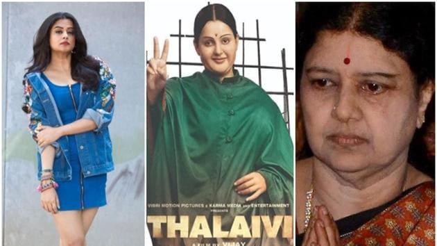 Thalaivi will star Kangana Ranaut as J Jayalalithaa.(Instagram/PTI)