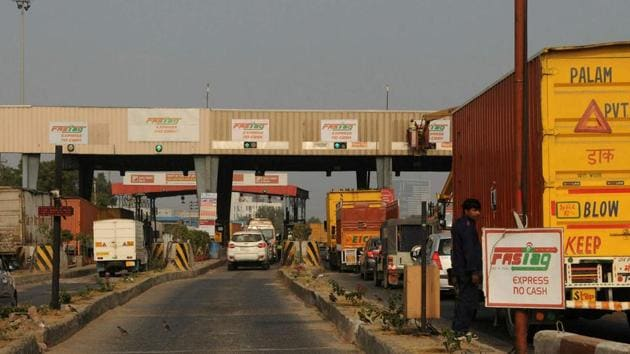 19 lanes at Kherki Daula toll to accept FASTags from today