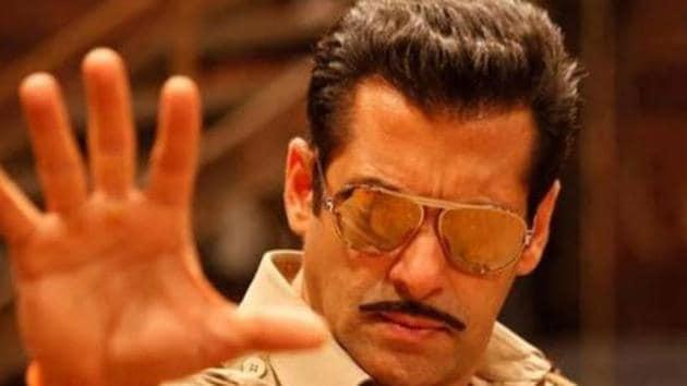 Salman Khan in Dabangg 3.