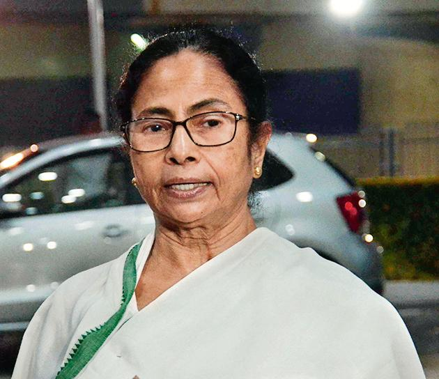 West Bengal Chief Minister Mamata Banerjee is being accused of misleading people by some political opponents in Bengal(ANI Photo)