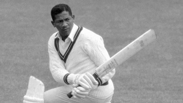 Former West Indies batsman Basil Butcher(Twitter)