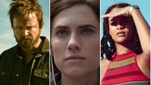 Aaron Paul in El Camino, Alison Williams in The Perfection, and Rihanna in Guava Island, three of the best streaming films of 2019.