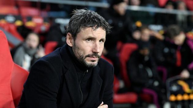 PSV Eindhoven coach Mark van Bommel(REUTERS)