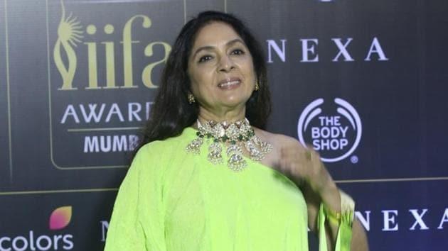 Actress Neena Gupta at an award function in Mumbai.(IANS)