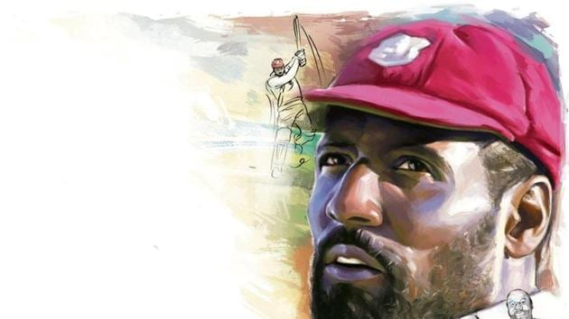 1976 was perhaps Viv Richards' finest year, during which he scored 1,710 runs at an astonishing average of 90, with seven centuries in 11 Tests.(ILLUSTRATION: Rushikesh Tulshiram Gophane)