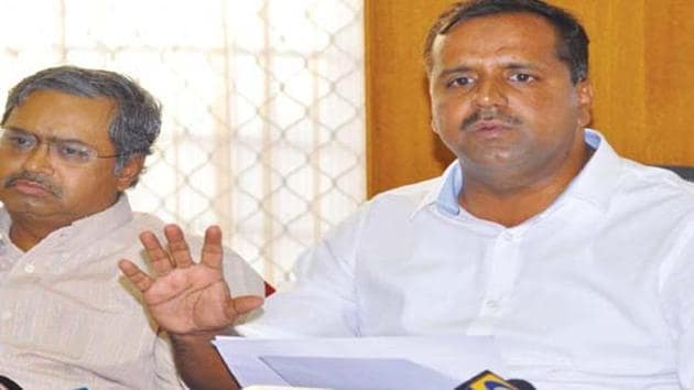 BJP has accused Congress MLA UT Khader of inflaming passions with his 'state would blow up in cinders' remark over CAA(HT Photo/File)