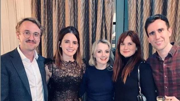 Emma Watson Reunites With Her Harry Potter Mates For An Early Christmas Celebration See Pics Hindustan Times
