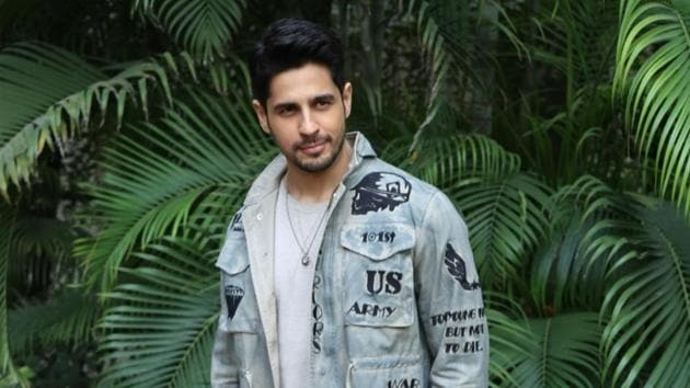 Sidharth Malhotra during a programme organised to promote Marjaavaan in New Delhi on Nov 12, 2019. (IANS)(IANS)
