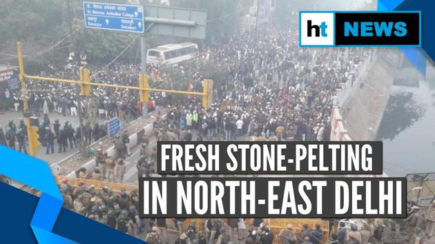 Incidents of fresh stone-pelting were reported from Delhi's Seemapuri on Friday. Additional DCP Shahadra Rohit Rajbir was injured during a stone pelting incident. Heavy police security was deployed in the area where people have been protesting against the amended Citizenship Act. People gathered in huge number in the Seelampur area.