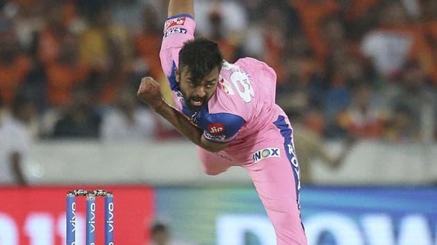 File image of Jaydev Unadkat(AP)