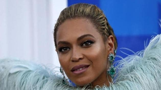 Adidas will start selling a new collection designed with singer Beyonce on Jan. 18 in a relaunch of her Ivy Park brand that includes shoes, clothes and accessories, mostly in maroon, orange and cream.(Reuters)