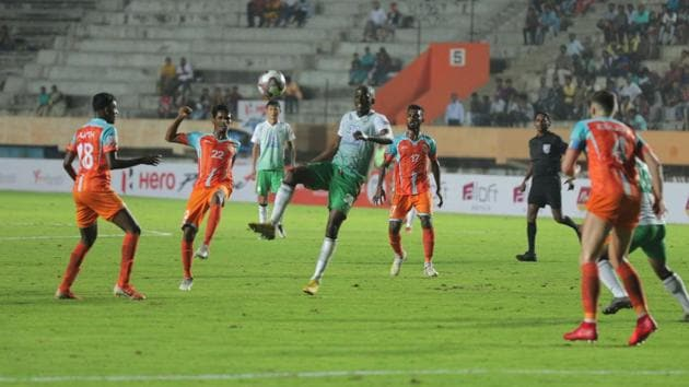 Neroca FC played out a draw against Chennai City FC.(AIFF)