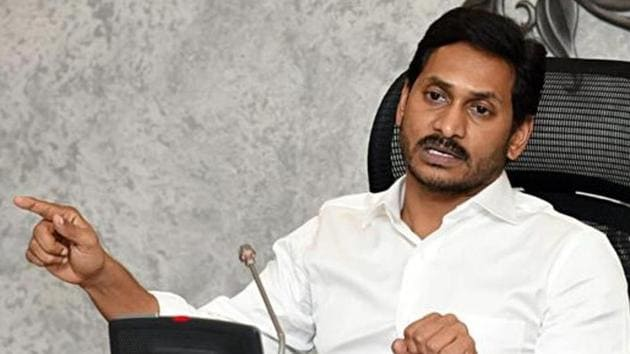 Andhra Pradesh Chief Minister YS Jagan Mohan Reddy also made a statement in the assembly suggesting more or less similar structure for state capitals.(ANI PHOTO.)