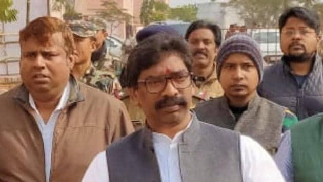 Jharkhand Election Results 2019: Hemant Soren: JMM Gen Next could take another leap Monday.(Hemant Soren/Twitter)