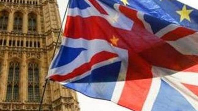 The new plan is one of the measures the Johnson government is taking in the near future to attract professionals and experts needed in the country, as the United Kingdom prepares to leave the European Union on January 31.(BLOOMBERG PHOTO.)
