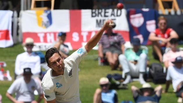 New Zealand's Trent Boult in action.(REUTERS)