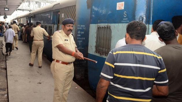 The Railway Protection Force (RPF) has busted a gang involved in ticketing scams, money laundering and suspected terror financing.(Representative image/HT Photo)