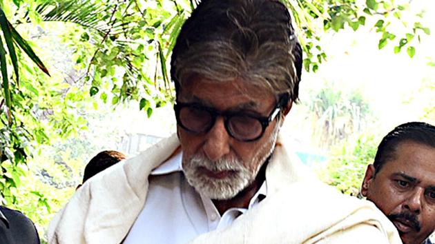 Bollywood actor Amitabh Bachchan hasn't been in great health lately.