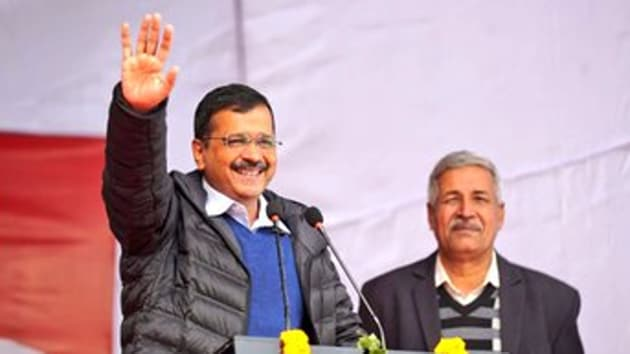 Delhi CM Arvind Kejriwal. (Photo @ArvindKejriwal)